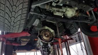 アメ車のエンジン漏れ修理03